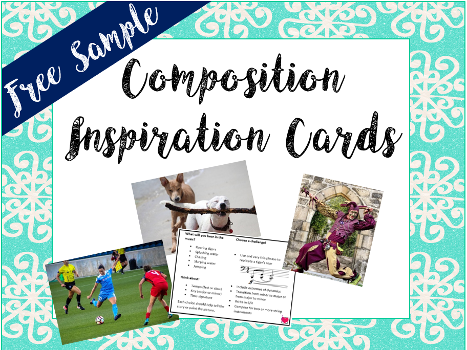 Sample Composition Inspiration Card