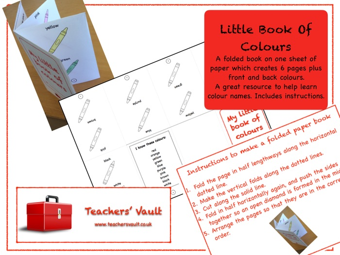 Little Book Of Colours