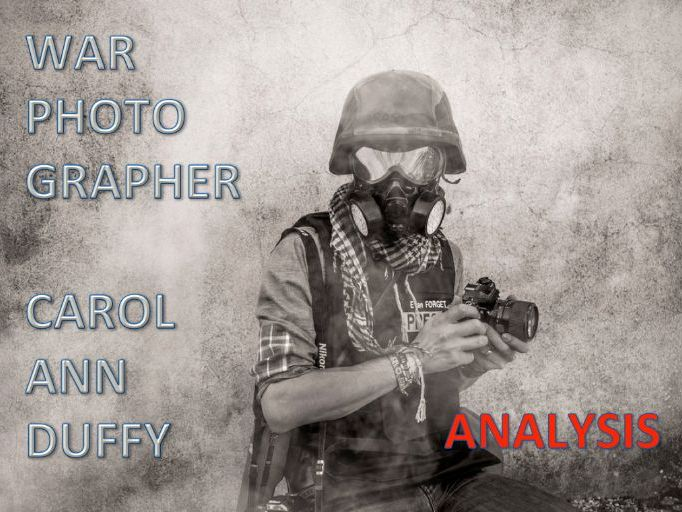 War Photographer - Video and matching, differentiated worksheets for HA, MA, LA and EAL