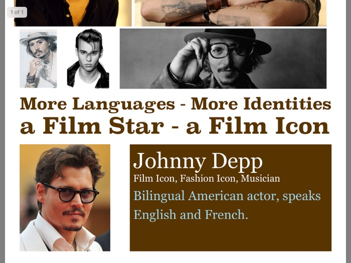 MFL Poster 5 - Johnny Depp