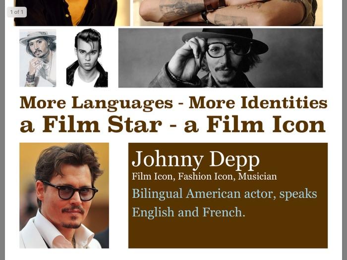 MFL Poster 5 - Johnny Depp