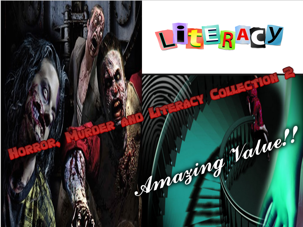 Horror, Murder and Literacy Collection Pack 2