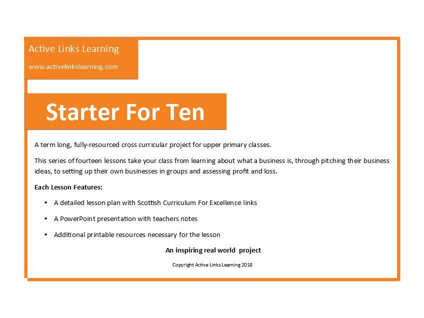 Starter For Ten Enterprise Project