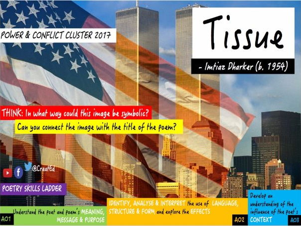 Tissue, Imtiaz Dharker: Power & Conflict Cluster 2017 (AQA GCSE English Literature)