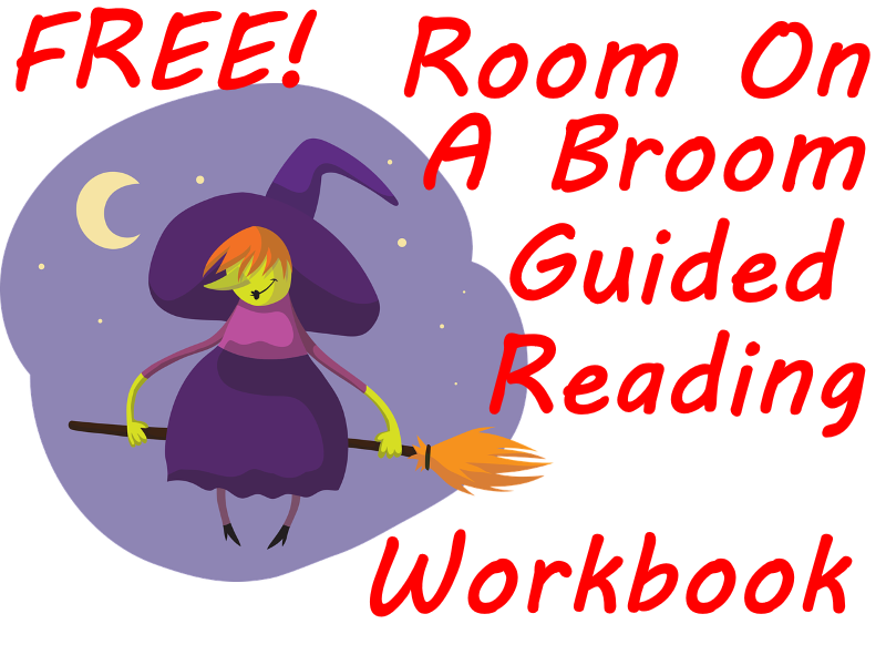 FREE Room On The Broom Workbook -  16 Thinking Hat Worksheets for creative learning