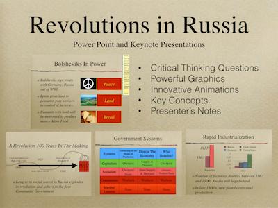 Revolutions In Russia PowerPoint & Keynote Presentations