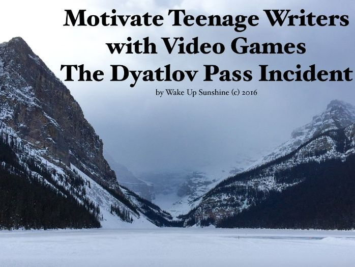 Motivate Teenage Writers with Video Games The Dyatlov Pass Incident