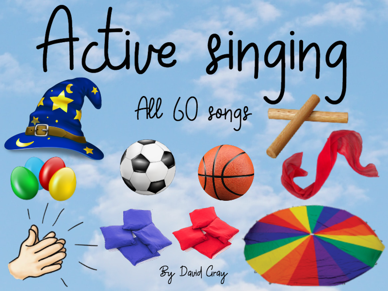 Active singing - All 60 songs