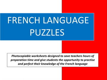 French Language Puzzles