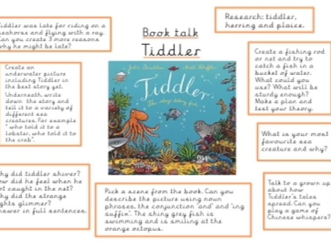 Tiddler Book Talk