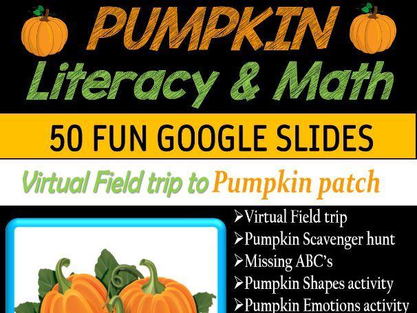 All About Pumpkins   Virtual Field Trip to Pumpkin Patch - 58 google slides
