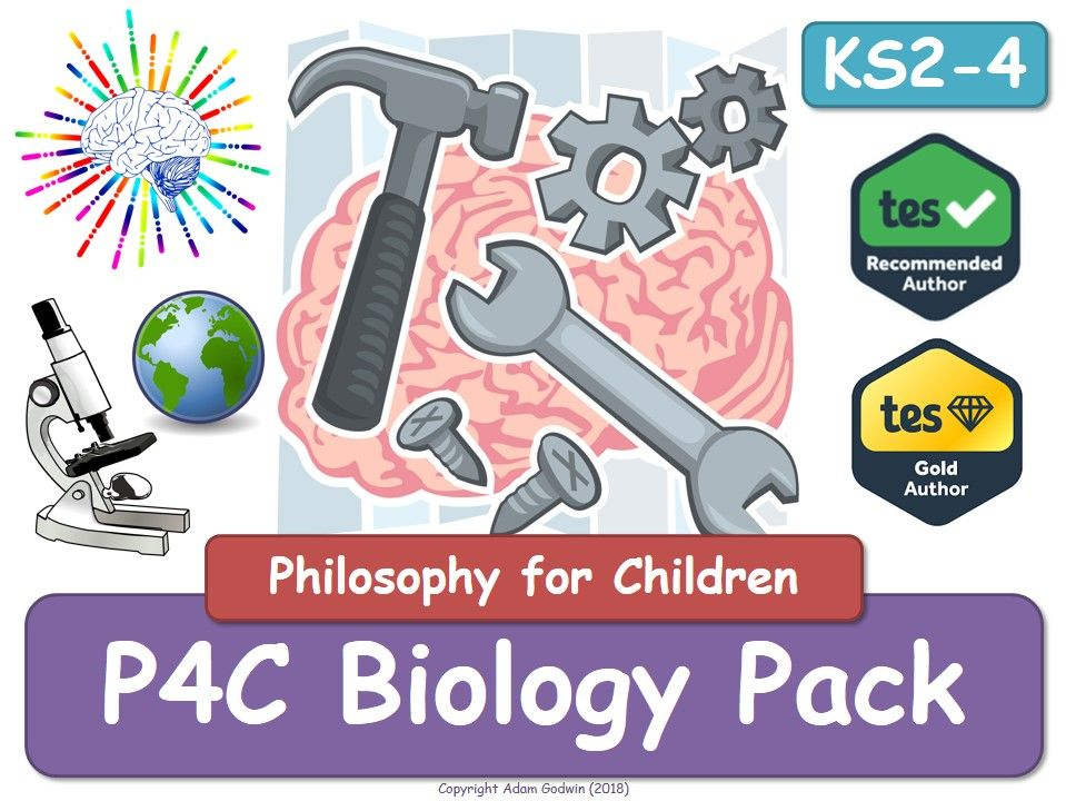 Biology P4C Tools [x4 Resource Value Bundle] (P4C, Philosophy, Biology, Chemistry, Physics, Science, Resources, P4C, Tools, Resources]