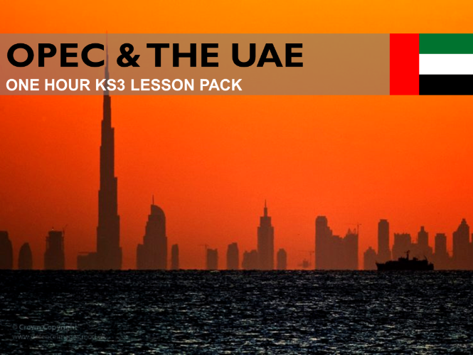 Resources 4: OPEC & The UAE (KS3)