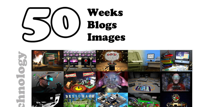50 Weeks, 50 Blogs, 50 Images