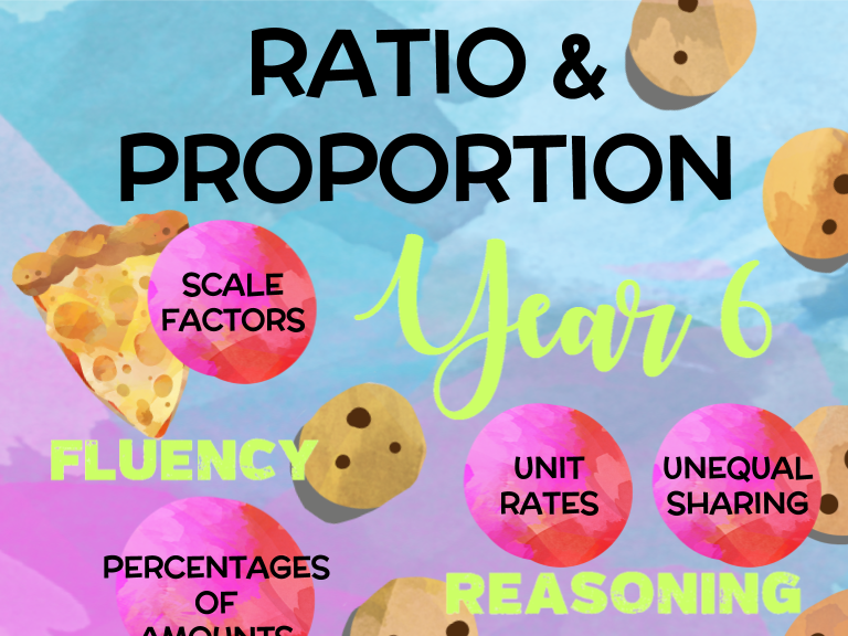 Year 6 Maths: Ratio & Proportion *UPDATED for DEEPER LEARNING