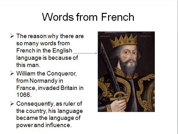 Words from French