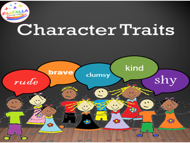 Character Traits -ADJECTIVES- WORD MAP