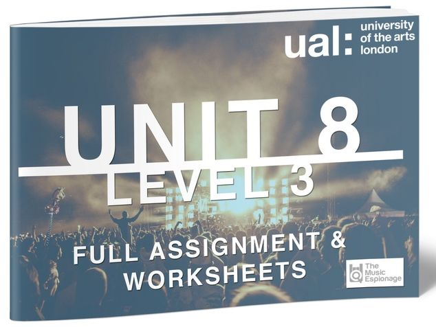 UAL-Level 3-Unit 8 - Collaborative Music Performance Project-FULL