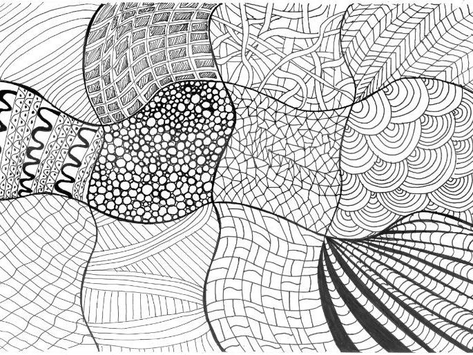 Patterns: Colouring Page