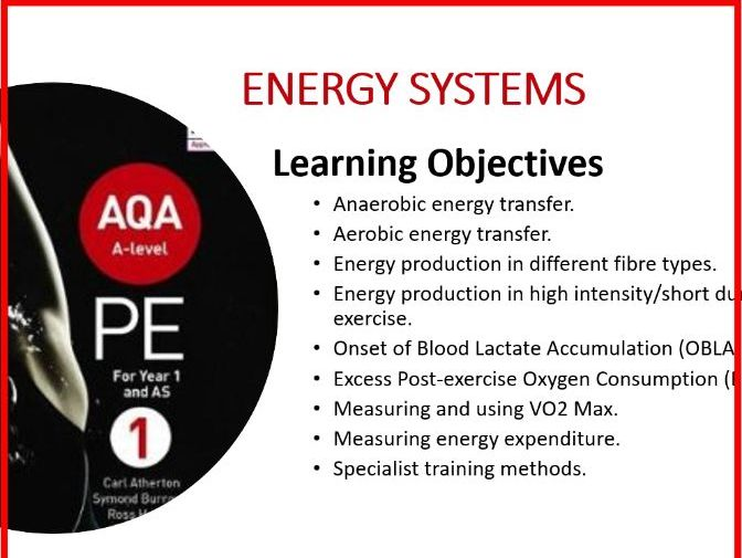 A Level PE NEW - Energy Systems PPT