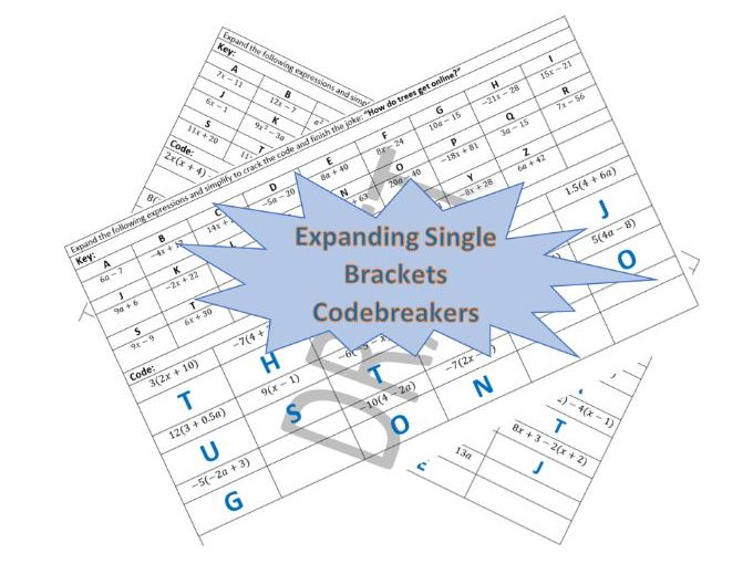 Expanding Single Brackets Codebreakers