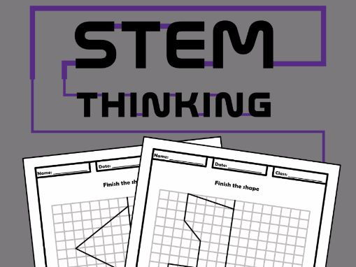 Shape Symmetry Drawing Maths Worksheets