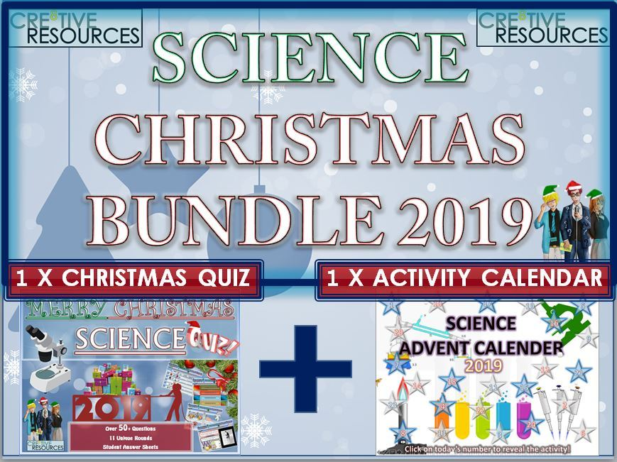 Science Christmas Quiz Advent Calendar 2019