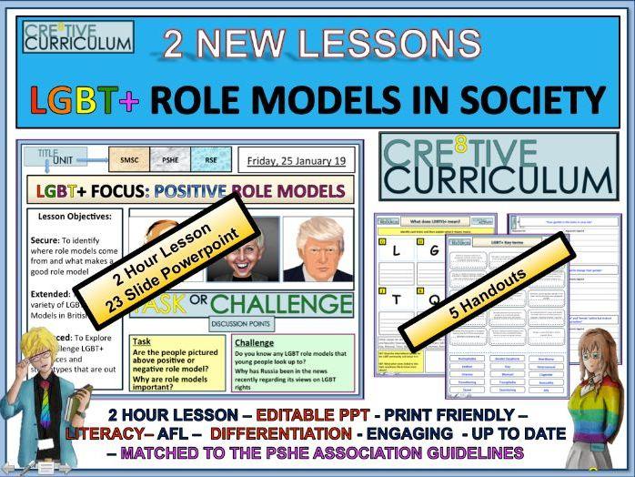 LGBT Role Models - PSHE RSE/C8/LS/13