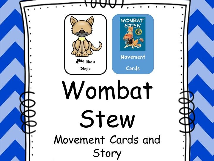 Wombat Stew Movement Cards