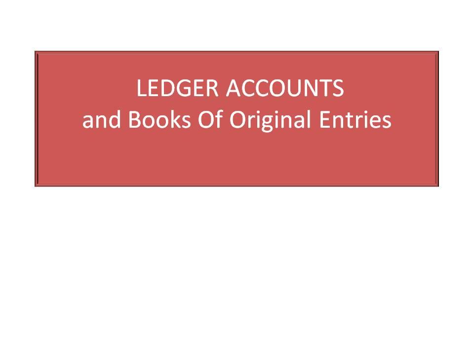 Ledgers