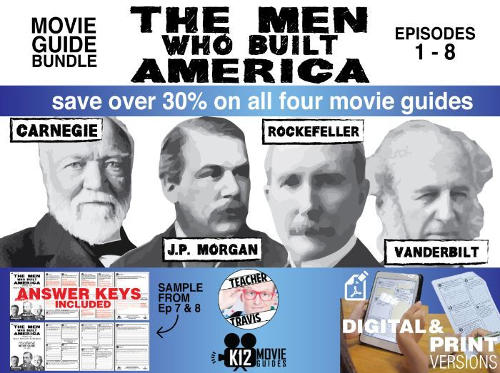 The Men Who Built America - Movie Guide Bundle (TV - 2012)