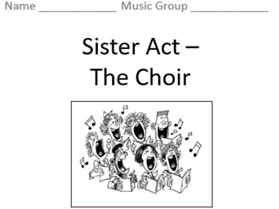 KS3 The Choir - Topic Booklet