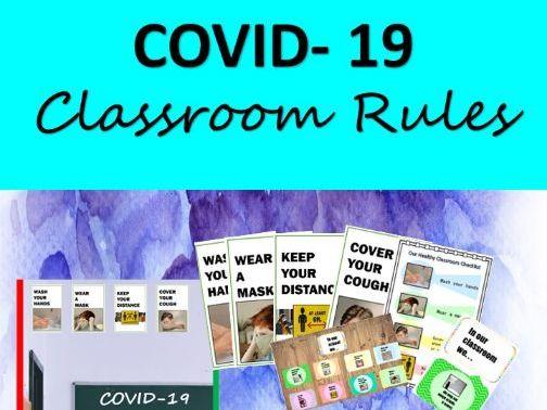 Covid-19 Classroom Rules