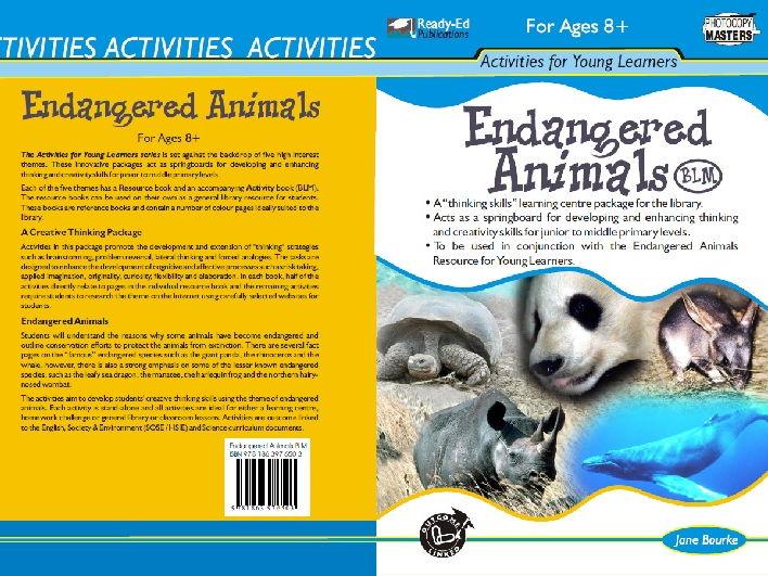 Endangered Animals Activity Book