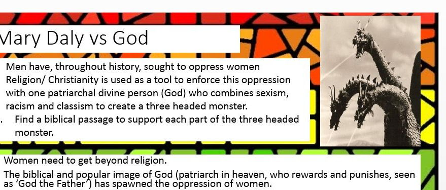 Gender and Theology Power Point: R.S New Spec A2