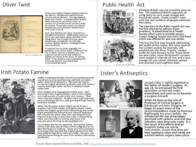 Victorian Timeline