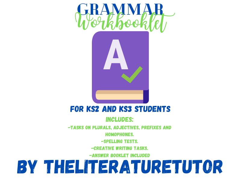 Home Learning: Grammar Activities