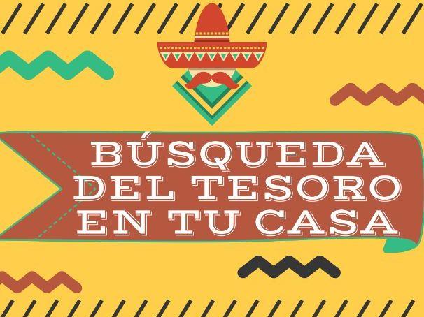 KS3 SPANISH FUN TREASURE HUNT ACTIVITY - COVID19