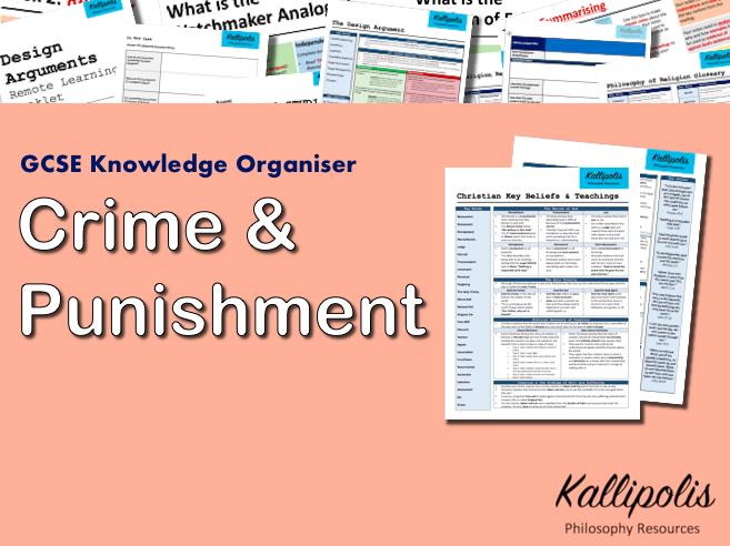 Crime & Punishment - GCSE Religious Studies (RS) Knowledge Organiser