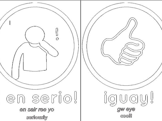 Spanish mini flash cards on the topic of mi cuidad /viajar fun linking expressions  B&W