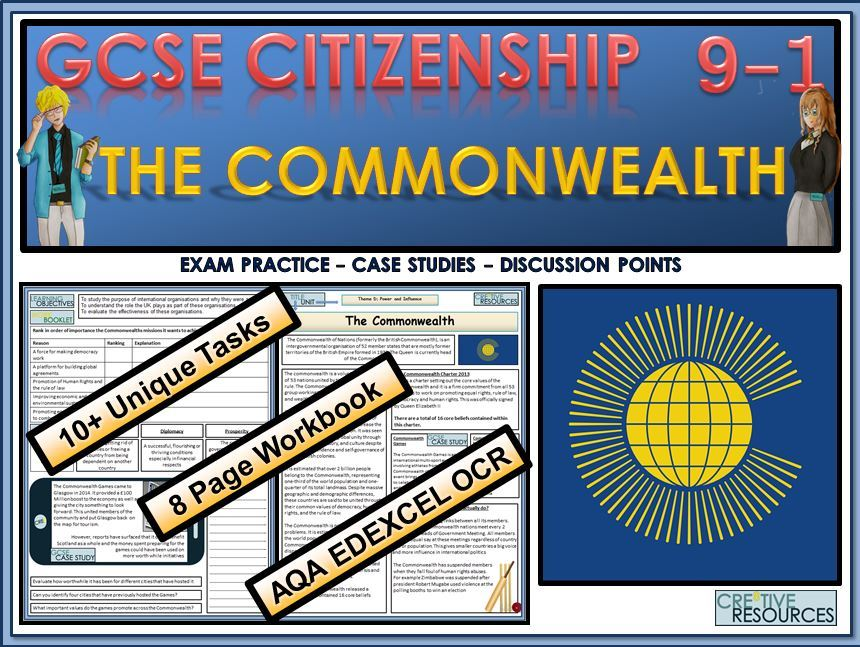 GCSE Citizenship (9-1) The Commonwealth