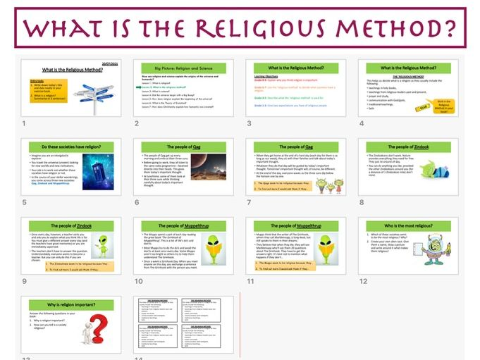 What is the Religious Method?