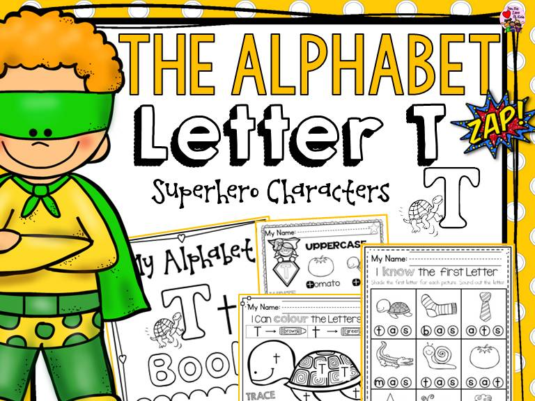 PHONICS: THE ALPHABET: LETTER T