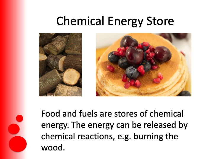GCSE science/Physics (9 – 1) Energy Stores