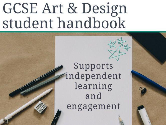 GCSE art and design course handbook