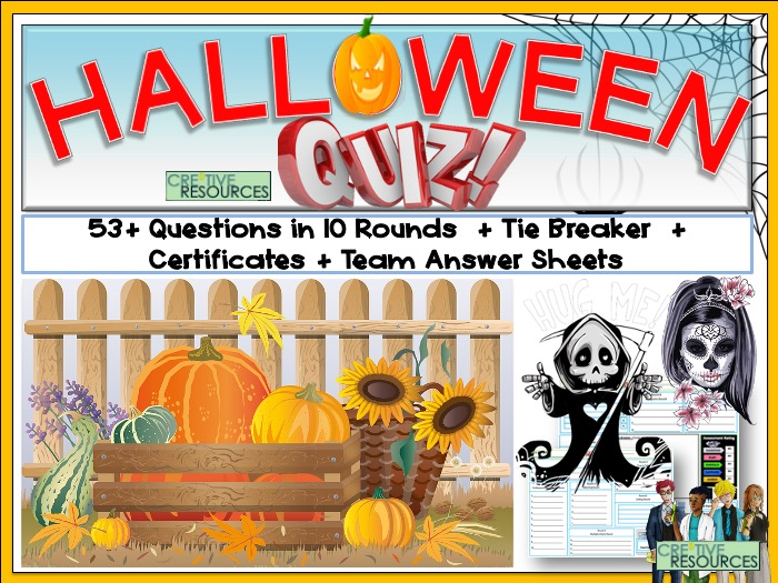 Halloween 2020 Quiz