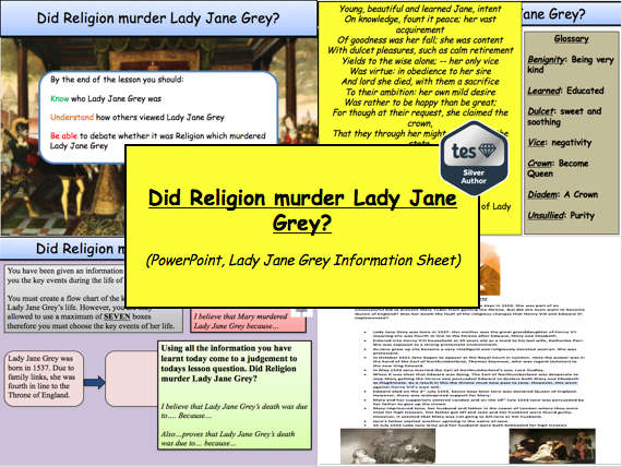 Did Religion kill Lady Jane Grey? (Tudor History)