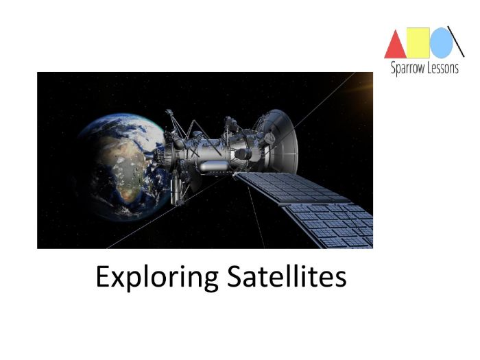 Exploring Satellites