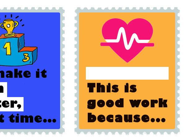 Feedback Stickers Health Education
