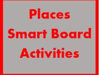 Orte (Places in German) Smartboard activities